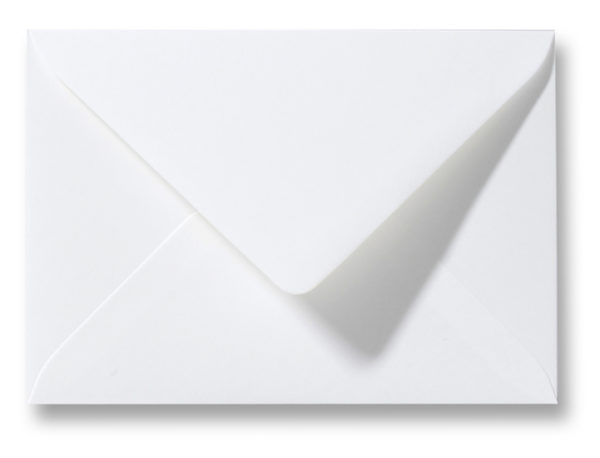 Envelop gebroken wit 14,5 x 20 cm